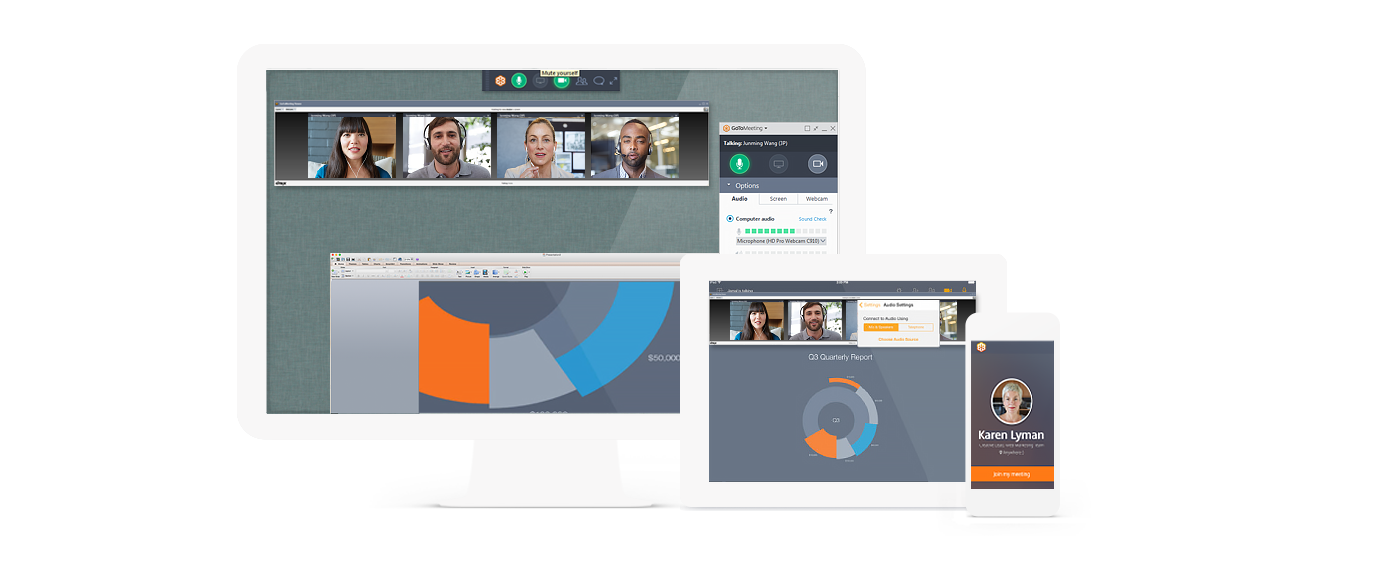 schedule a gotomeeting